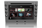 N7 - PS - S - PRO Porsche Boxster, Cayman, 911, Carrera GPS, Bluetooth, DVD