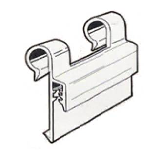 Supergrip Wire Basket Sign Holder Double Clip 35mm