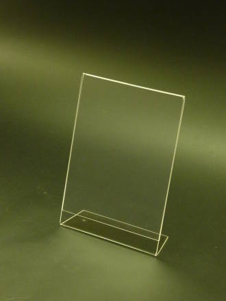 A5 Portrait Slanted Leanback Menu Holder