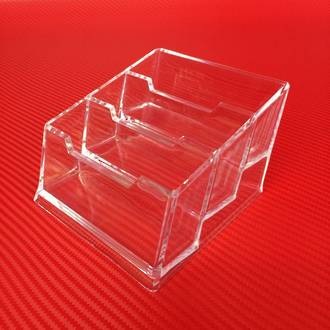 3-Tier Business Card Holder