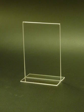 (69001) Stand-up Menu/Sign Holder, 102mm (W) x 152 mm (H), A6 Portrait