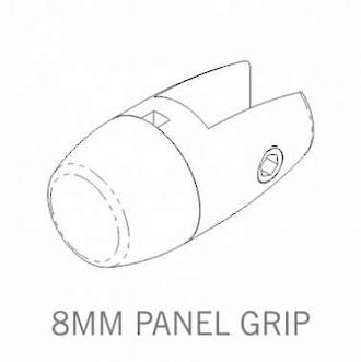 Axis Panel Grip 8mm