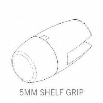Axis Shelf Grip 5mm