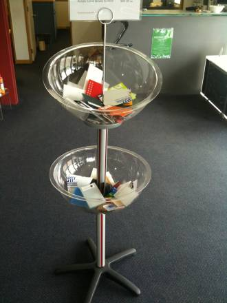 Double Bowl Stand Set
