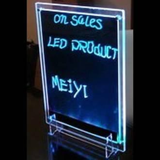 LED Writing Board Clear Frame A3