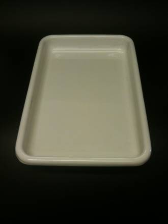 (Offal-100-B) Offal Dish White 100mm