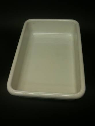 (Offal-150-B) Offal Dish White 150mm