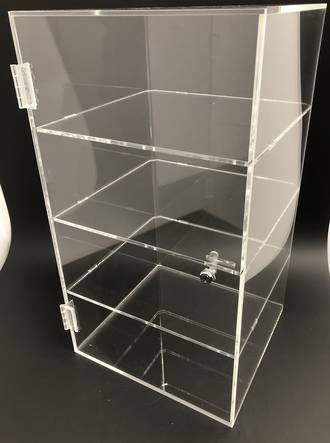 Single Door Food Display Cabinet