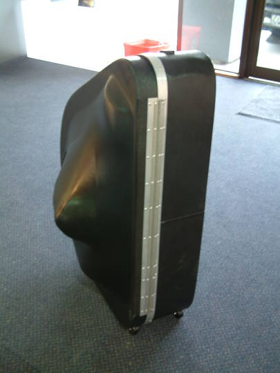 Formed TUBA carry case