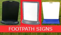 footpath signs nz