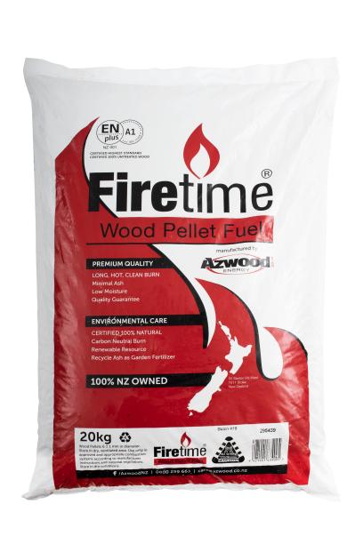 Firetime 20kg bag compressed