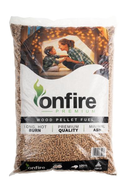 Onfire premium 15kg bag compressed