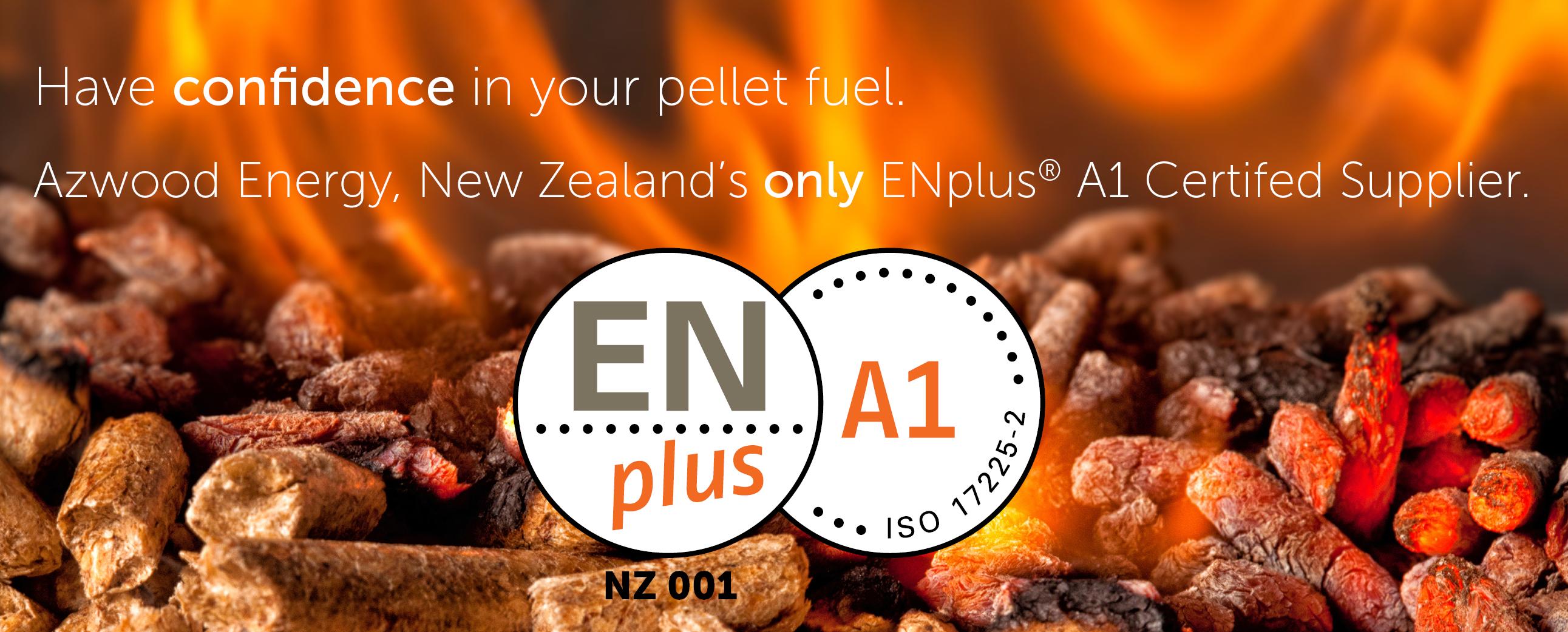 Azwood Energy, Enplus A1 Certified