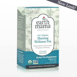 Earth Mama Angel Baby - Organic Morning Wellness Tea