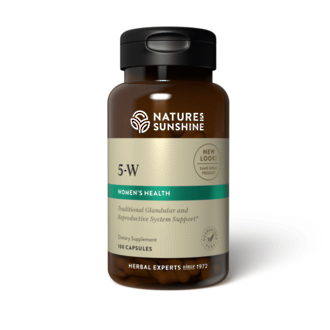 5-W Herbal combination to aid during the final stages of pregnancy and childbirth