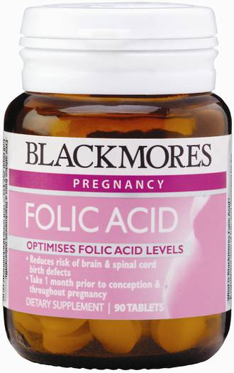 Blackmores Folic Acid 500ug 90 Tablets