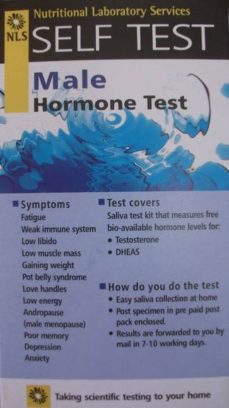 Male Hormone Test Kit