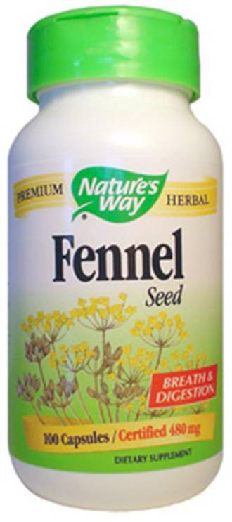 Fennel Capsules by Natures Way