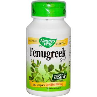 Fenugreek Capsules by Natures Way