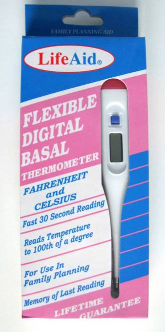 Life Aid Basal Thermometer