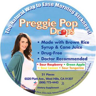 Preggie Pop Drops Sour Drops