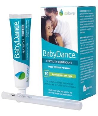 BabyDance Fertility Safe Lubricant – 10 Applicators