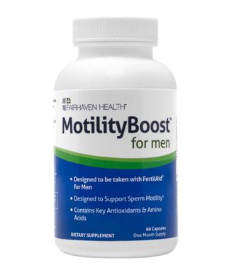 MotilityBoost Sperm Motility Supplement