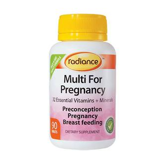 Radiance Multi for Preconception, Pregnancy and Breast Feeding