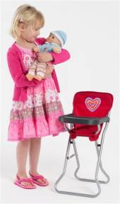Dominique Standard Dolls Highchair