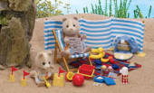 Sylvanian Families A Day at the Seaside Set