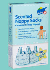 Baby U Scented Nappy Disposal Bags