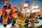 Melissa & Doug Pirates Bounty Floor Puzzle