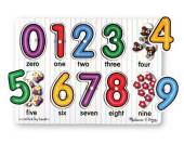 Melissa & Doug Counting Numbers Peg Puzzle