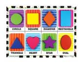 Melissa & Doug Learning Shapes Puzzle