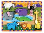 Melissa & Doug Safari Animals Chunky Animals