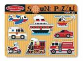Melissa & Doug Vehicle Sounds Puzzle