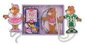 Melissa & Doug Lacing Dress Up Bears