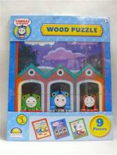 Thomas The Tank Engine Thomas 9 Piece Wooden Puzzle - B