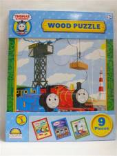 Thomas The Tank Engine Thomas 9 Piece Wooden Puzzle - C