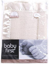 Baby First Pure Wool Air Cell Cot Blanket