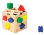 Melissa & Doug Wooden Shape Sorting Cube