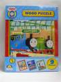 Thomas The Tank Engine Thomas 9 Piece Wooden Puzzle - A