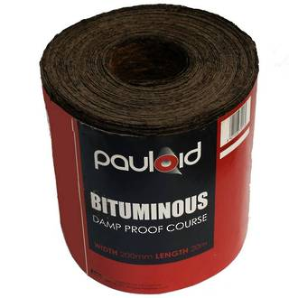 DPC Poly Dry Fix 200mm x 30m