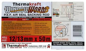 Window Worm 12mm x 50m