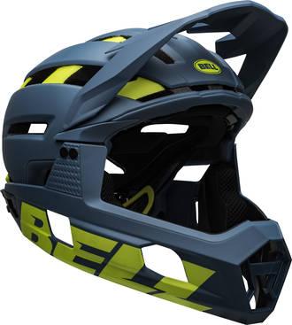 Bell Helmet Super Air MIPS Blue Hi Vis Medium