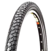 CST TYRE 26 x 1.95 GROOVED SLICK BLACK C1437 ( 48-559 )