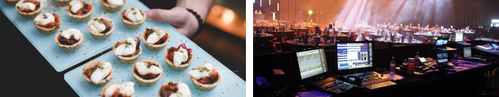 Catering & AV image for Bay Venues website