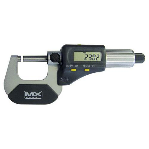 MICROMETER DIGITAL 0-25mm MEASUMAX