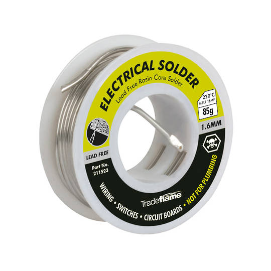 SOLDER 1.6mm 85gm ELECTRICAL HPAC
