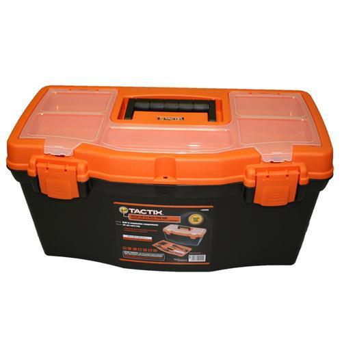 TOOL BOX CARRY PLASTIC 500mm TACTIX